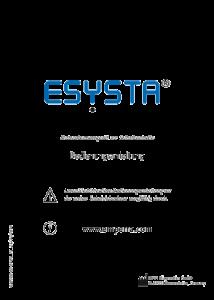 PDF: Bedienungsanleitung ESYSTA Labs