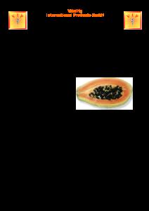 PDF: Caricol aus Papaya