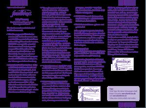 PDF: Femibion BabyPlanung