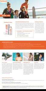 PDF: Panthenol Spray Produktinformation