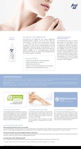 PDF: Frei Öl Pflege Öl Produktinformation