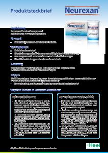 PDF: Produktsteckbrief Neurexan