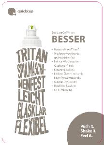 PDF: Mehr über die Tritan-Flasche Quickcap