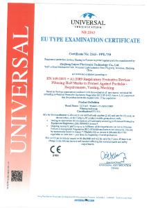 PDF: Zertifikat Luyao Masken