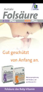PDF: Informationsflyer Folsäure