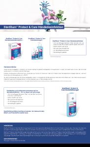 PDF: Sterillium® Protect & Care Produktinfo