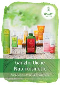 PDF: Weleda Fachinformation Naturkosmetik