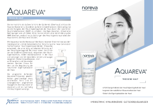 PDF: Infoblatt Aquareva für trockene Haut