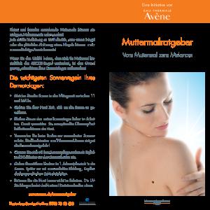 PDF: Avene Muttermalratgeber