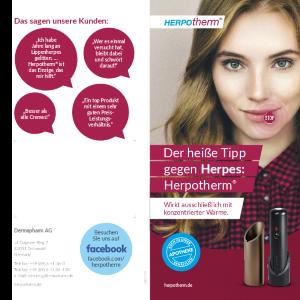 PDF: Der heiße Tipp gegen Herpes: Herpotherm