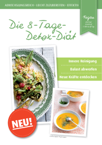 PDF: Die 8 Tage Detox Diät