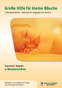PDF: Espumisan-Ratgeber 3-Monats-Koliken