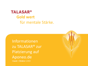 PDF: Talasar Patienteninformation