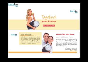 PDF: Formoline Abnehm Tagebuch