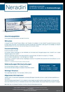 PDF: Neradin Patienteninformation