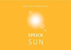 PDF: Speick Sun Infobroschüre