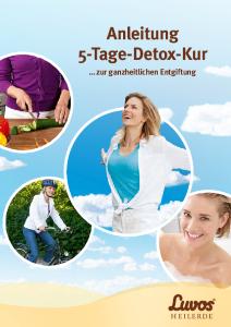 PDF: Luvos 5-Tage-Detox-Kur-Anleitung