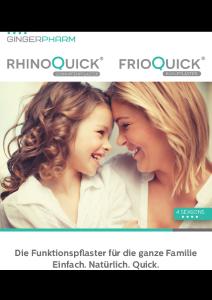PDF: Rhinoquick und Frioquick Funktionspflaster