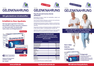 PDF: Avitale Gelenknahrung