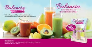 PDF: Rezeptvorschläge mit Balancia