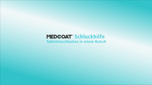 Video: MEDCOAT Schluckhilfe