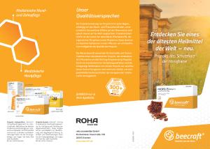 PDF: Beecraft Infobroschüre