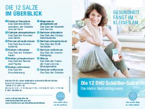 PDF: Die 12 DHU Schüßler-Salze