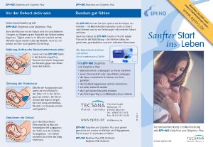 PDF: Flyer zum Beckenbodentrainer EPI-NO Delphine