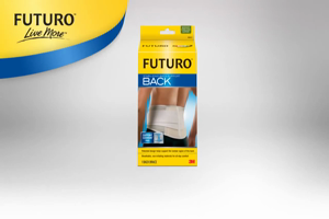 Video: Futuro Rückenbandage