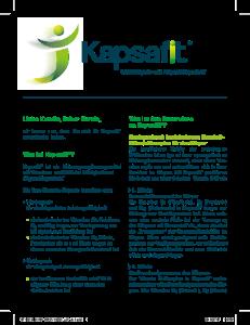 PDF: Kapsafit Kundeninformation