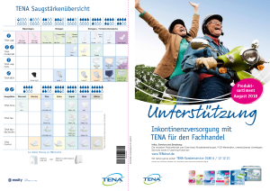 PDF: TENA Produktübersicht