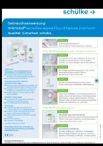 PDF: Gebrauchsanweisung mikrozid sensitive