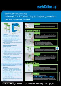 PDF: Gebrauchsanweisung mikrozid AF