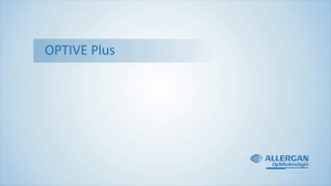 Video: Optive Plus