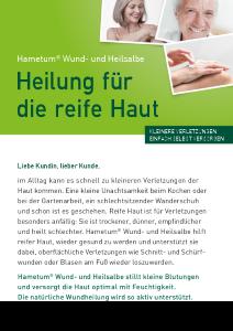 PDF: Hametum Wund- und Heilsalbe