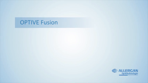 Video: Optive Fusion