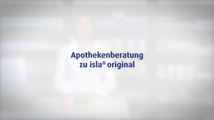 Video: Apothekenberatung zu Isla Original