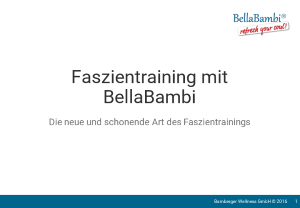 PDF: Faszientraining mit BellaBambi