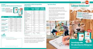 PDF: Zuverlässige Hilfe für unbeschwerten Milchgenuss!