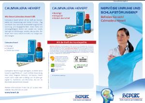 PDF: Calmvalera Hevert Gesundheitsratgeber