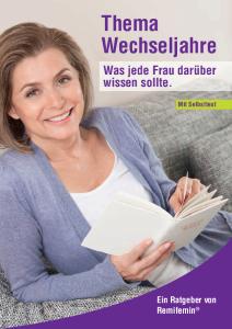 PDF: Thema Wechseljahre