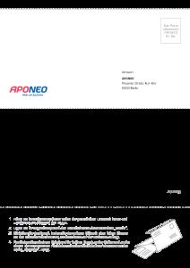 PDF: Freiumschlag APONEO