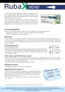 PDF: Rubax Mono