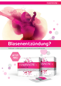 PDF: Blasenentzündung?