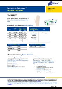 PDF: Vinyl 2000 Datenblatt