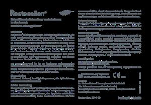 PDF: Gebrauchsanweisung Rectosellan