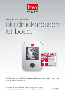 PDF: Blutdruckmessen ist boso.