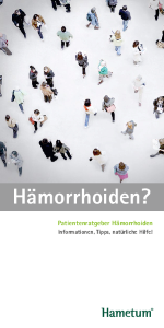 PDF: Patientenratgeber Hämorrhoiden