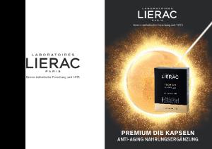 PDF: Produktinformation Lierac Premium Die Kapseln
